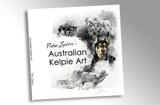 Australian Kelpie Art