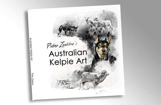Australian Kelpie Art Book